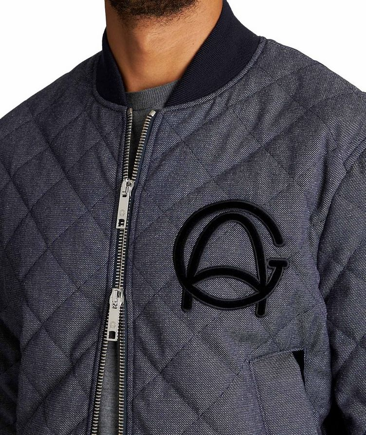 Quilted Wool-Cotton Bomber Jacket image 2