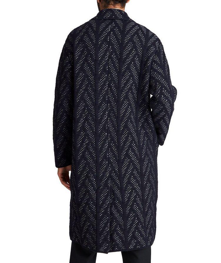 Knit Wool-Cashmere Coat image 1