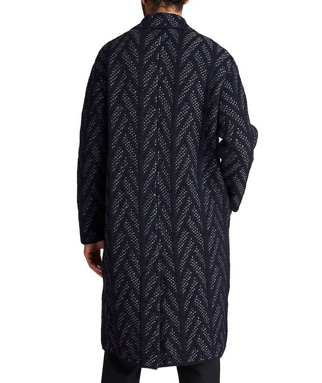 Knit Wool-Cashmere Coat picture 2