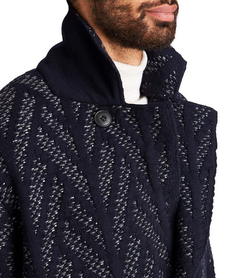 Knit Wool-Cashmere Coat image 2