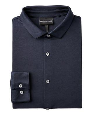 Emporio Armani Slim Fit Cotton Shirt