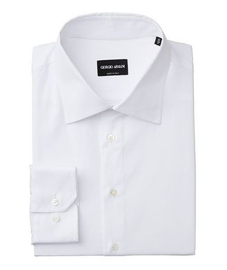 Giorgio Armani Contemporary Fit Cotton Dress Shirt