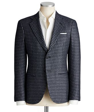 Giorgio Armani George Silk-Cashmere Sports Jacket