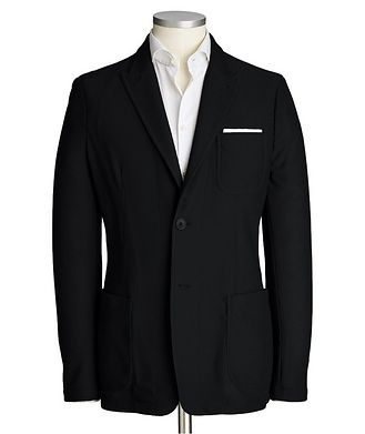 Giorgio Armani Icon Stretch-Knit Sports Jacket