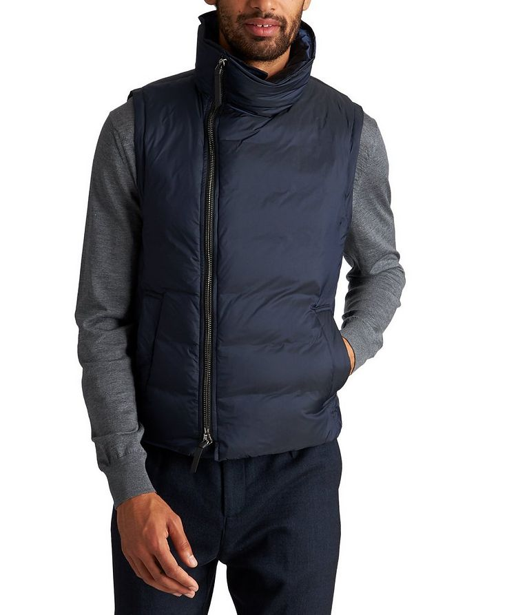 Water-Repellent Down Vest image 0