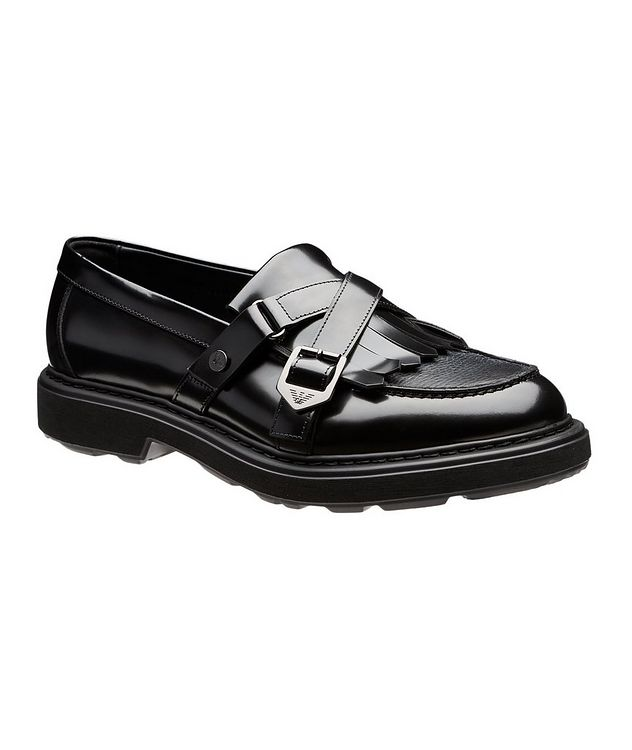 Fringed Leather Loafers picture 1