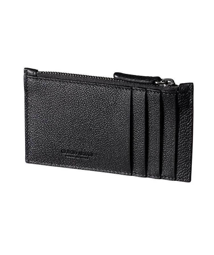 Pebbled Calfskin Wallet image 0