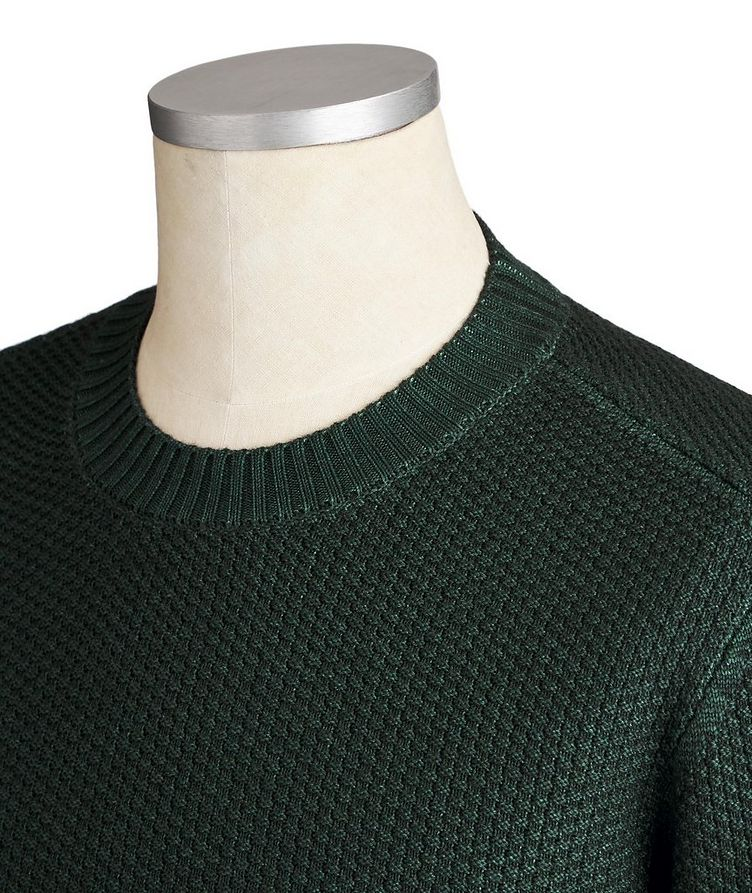 Knit Wool Blend Sweater image 1