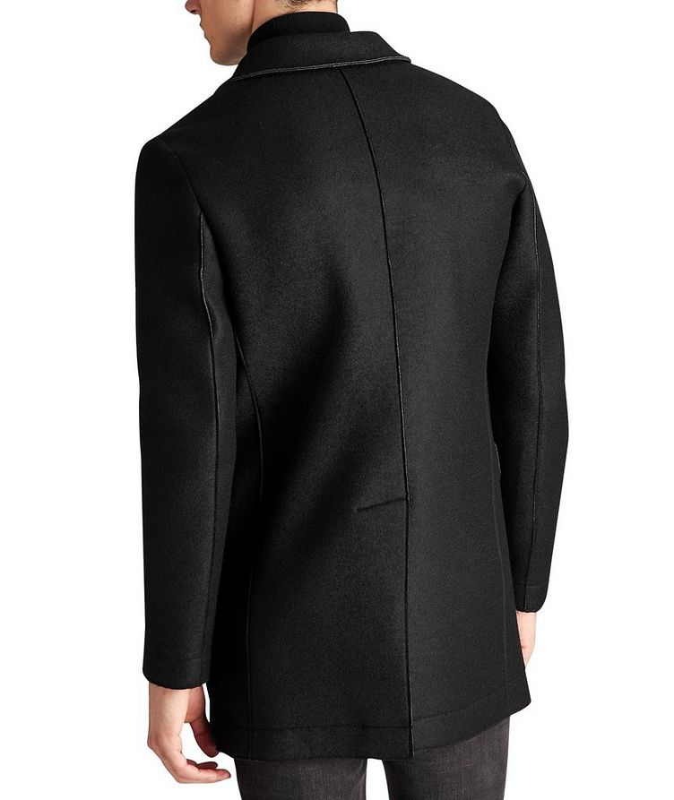 Neoprene & Wool Coat image 1