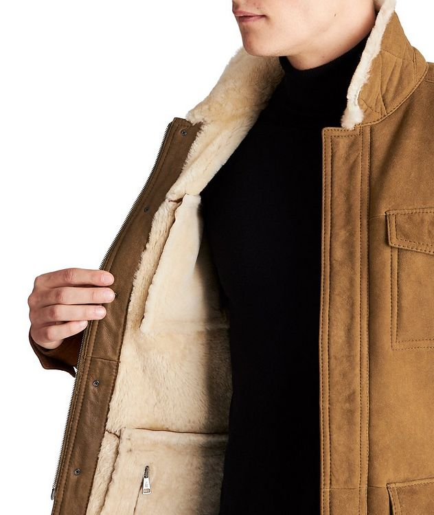 Liam Shearling Coat picture 3