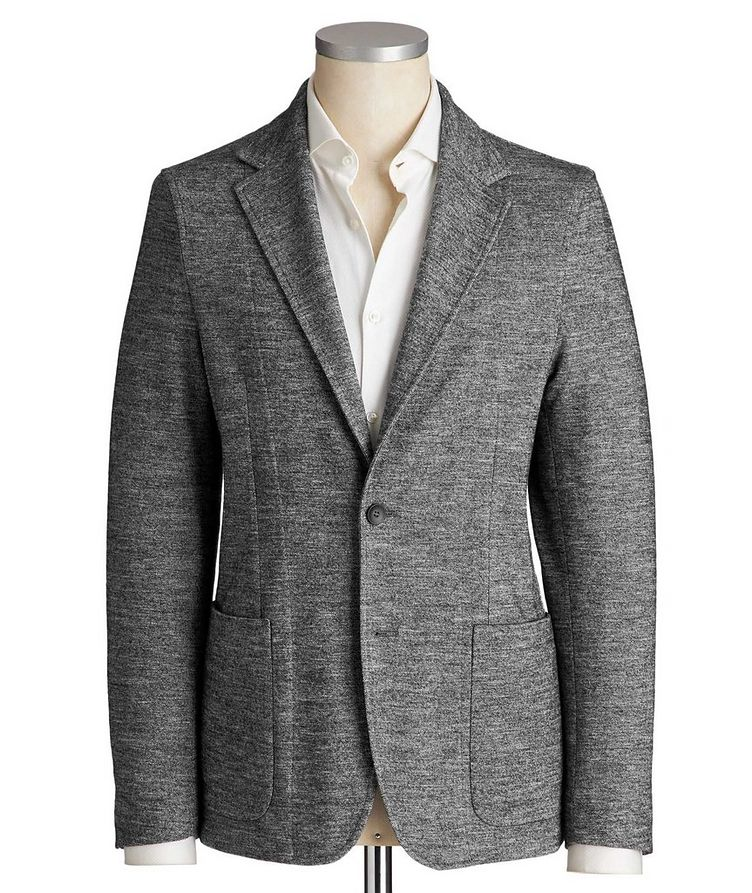 Unstructured Cotton & Wool Sports Jacket image 0