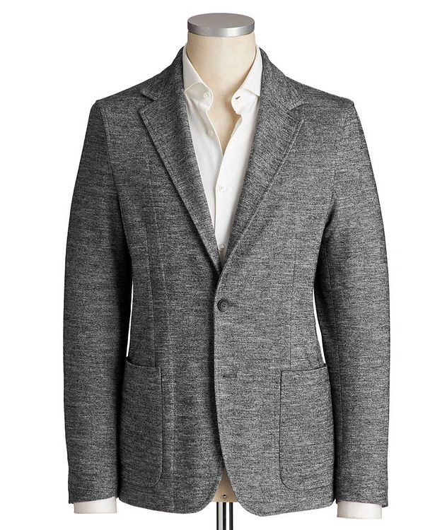 Unstructured Cotton & Wool Sports Jacket picture 1