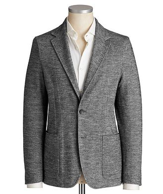Fradi Unstructured Cotton & Wool Sports Jacket
