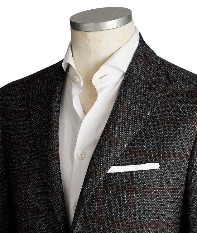 Kei Windowpane Wool Sports Jacket picture 2