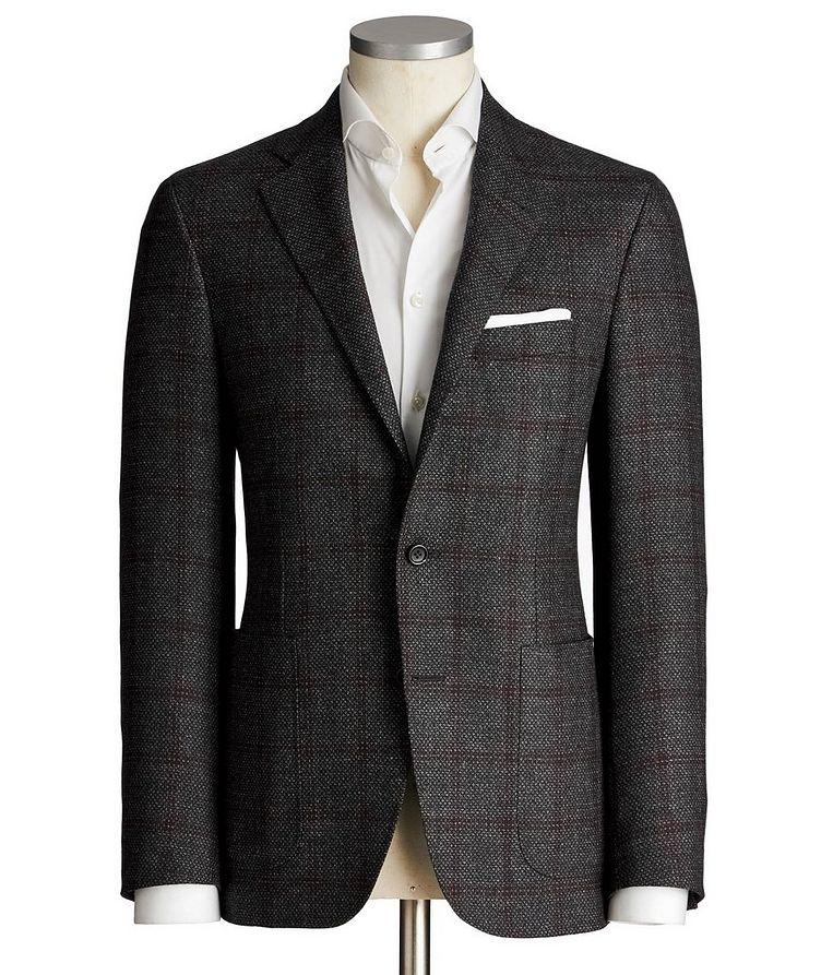 Kei Windowpane Wool Sports Jacket image 0