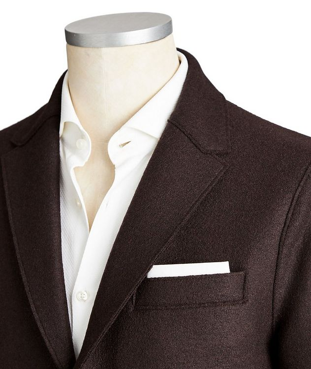 Unstructured Wool Sports Jacket picture 2