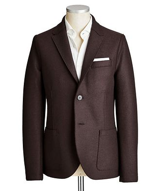 Harris Wharf London Unstructured Wool Sports Jacket