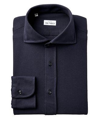 Atelier Munro Slim Fit Cotton Piqué Shirt