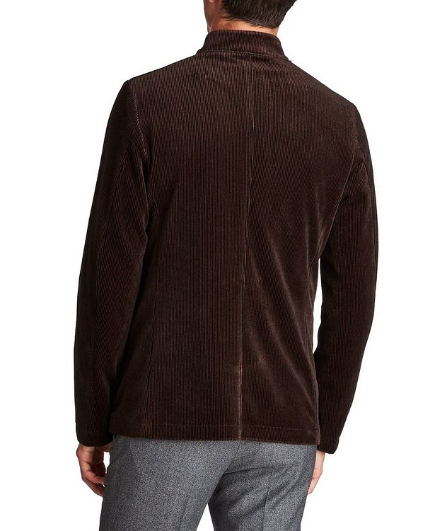 Unstructured Bomber-Style Sports Jacket picture 2
