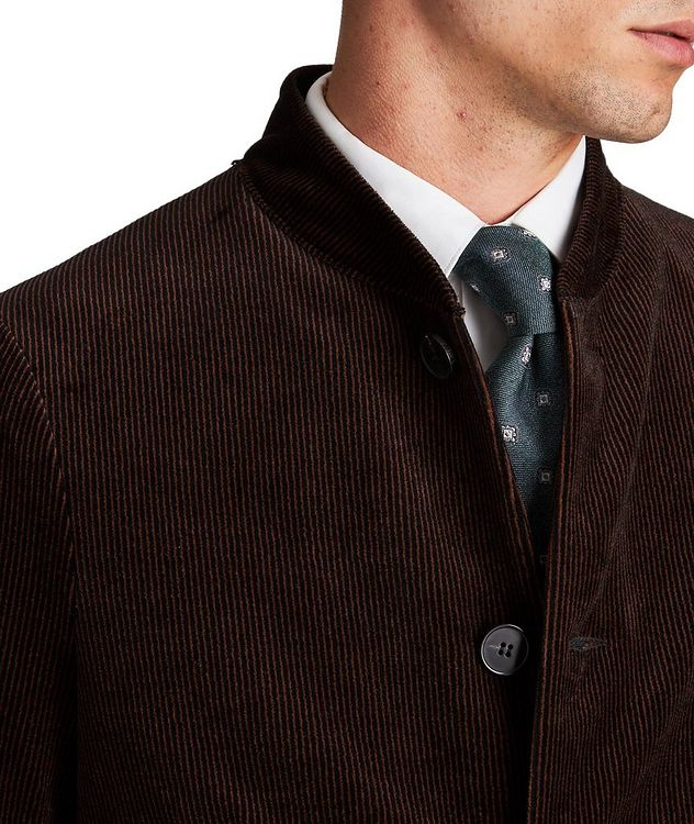 Unstructured Bomber-Style Sports Jacket picture 3