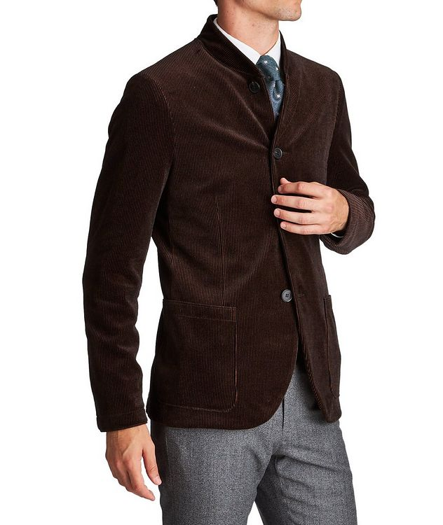 Unstructured Bomber-Style Sports Jacket picture 1