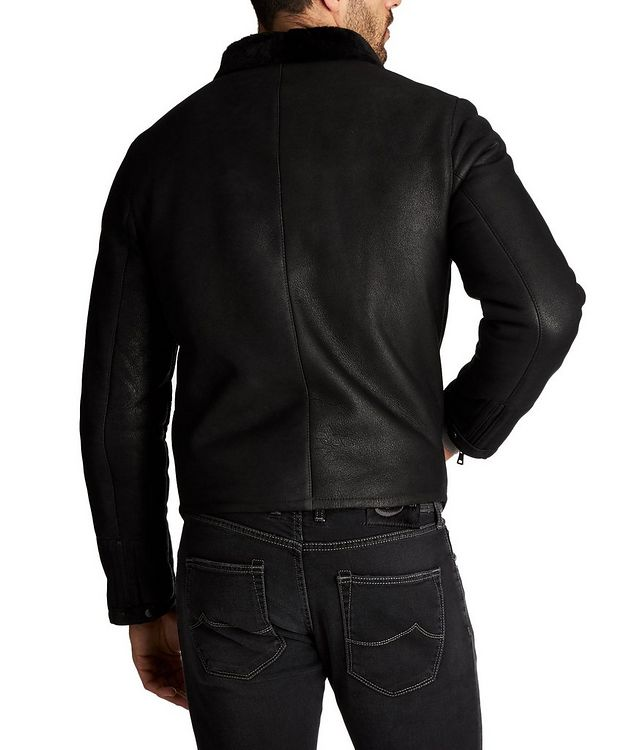 Van Shearling Bomber Jacket picture 2