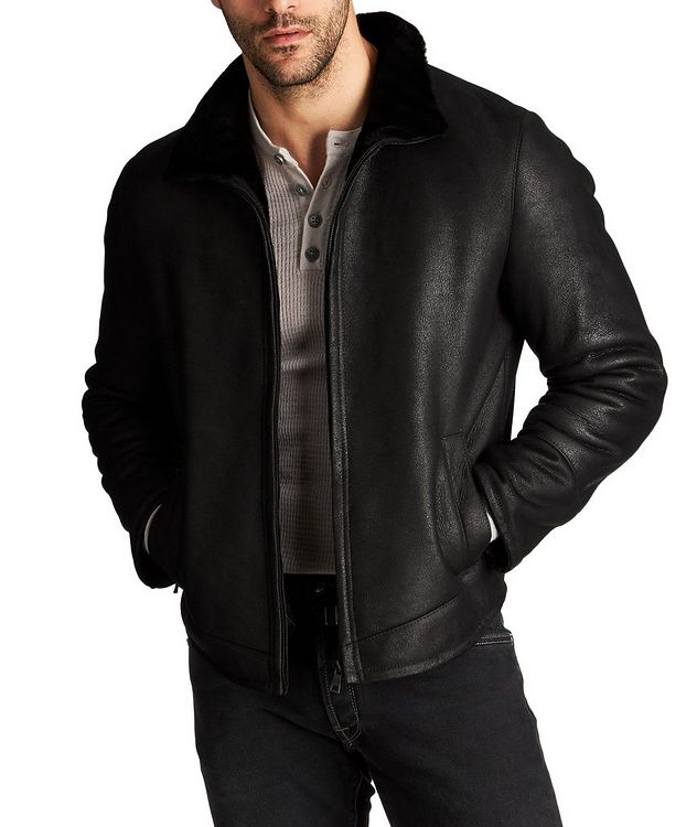Van Shearling Bomber Jacket picture 1