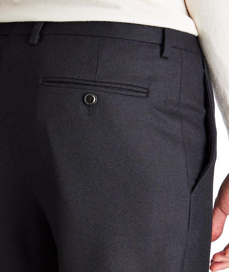 Pantalon en laine vierge extensible image 2