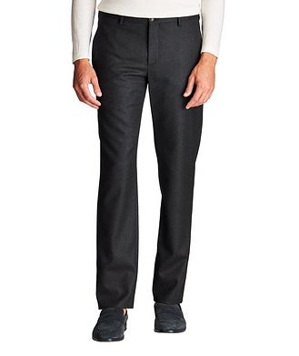 Giorgio Armani Stretch-Virgin Wool Trousers