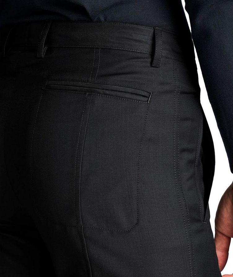 Virgin Wool-Cashmere Trousers image 2