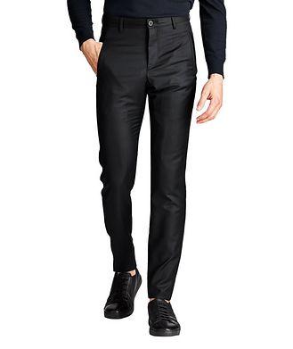 Giorgio Armani Virgin Wool-Cashmere Trousers