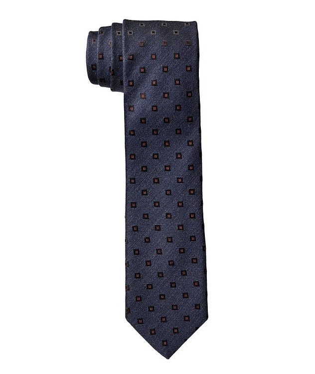 Printed Wool-Silk Tie picture 1