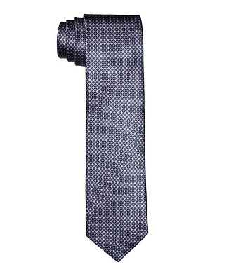 Canali Printed Silk Tie