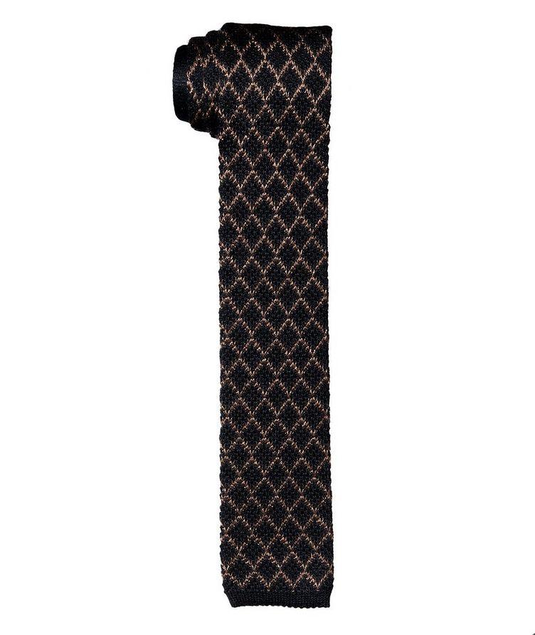 Silk-Cashmere Woven Tie image 0