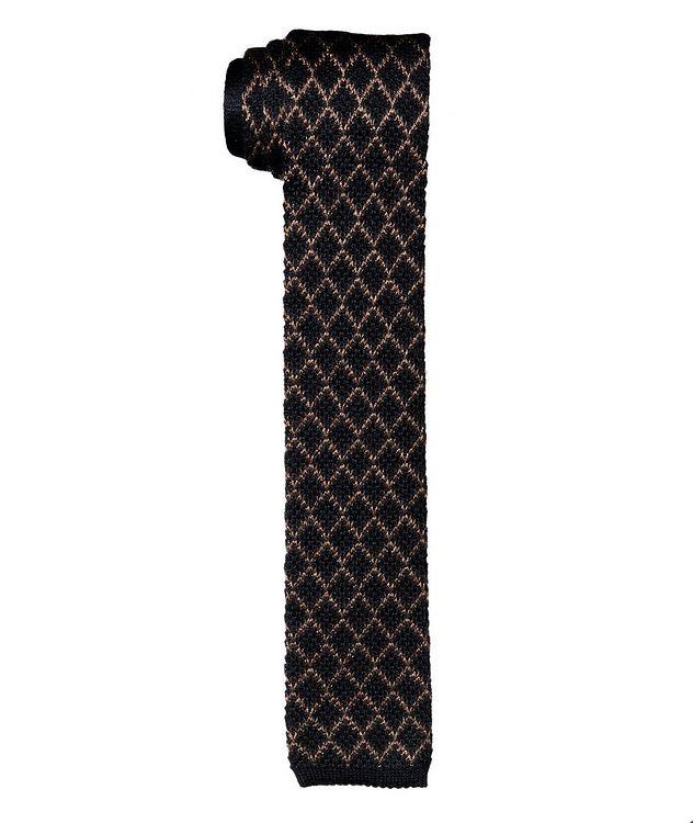 Silk-Cashmere Woven Tie picture 1