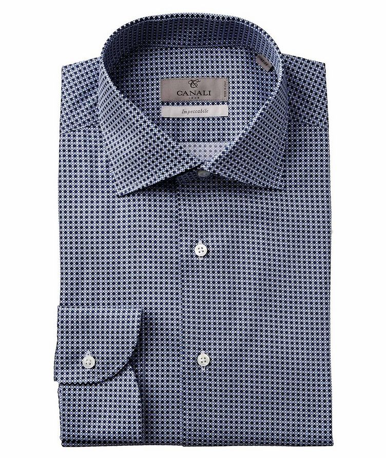 Slim Fit Printed Impeccabile Dress Shirt image 0