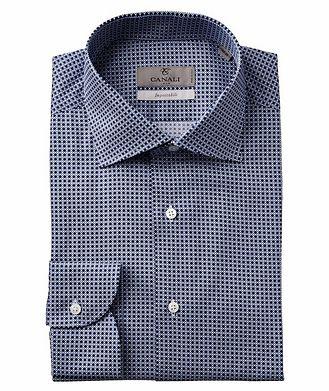 Canali Slim Fit Printed Impeccabile Dress Shirt