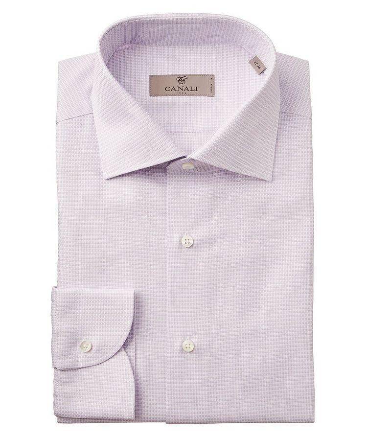 Slim Fit Printed Dress Shirt image 0