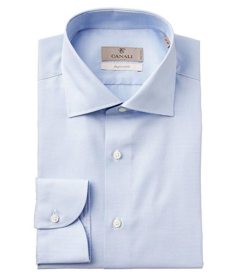Chemise habillée en tissu Impeccabile pied-de-poule image 0