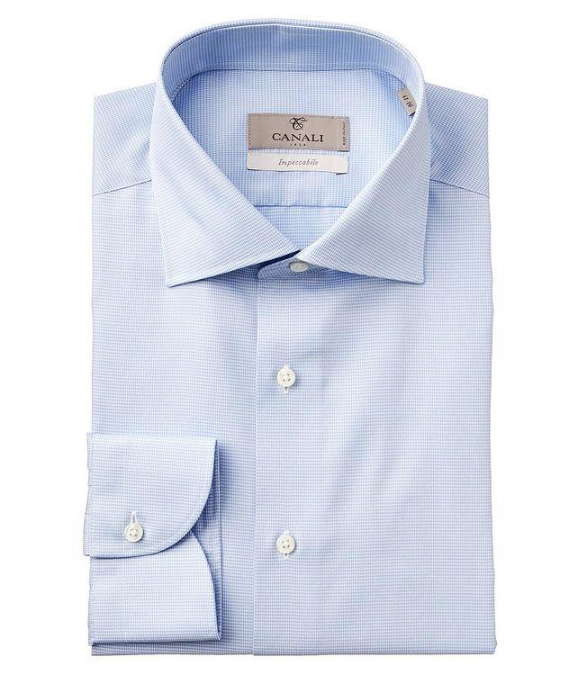 Chemise habillée en tissu Impeccabile pied-de-poule picture 1