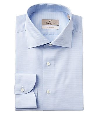 Canali Slim Fit Houndstooth Impeccabile Dress Shirt