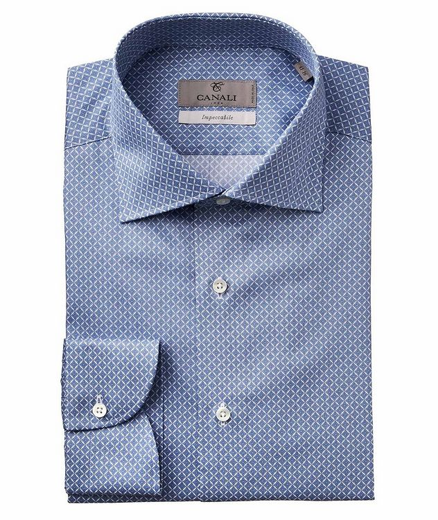 Slim Fit Printed Impeccabile Dress Shirt picture 1