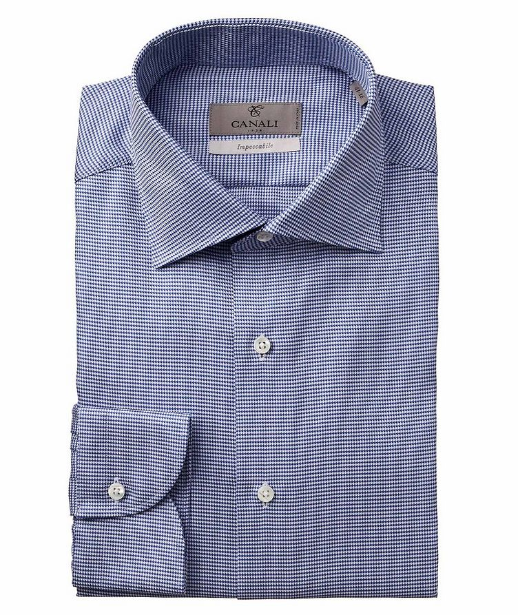 Slim Fit Houndstooth Impeccabile Dress Shirt image 0