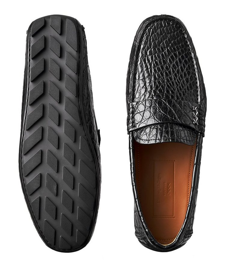 Couture Alligator Driving Shoes image 2