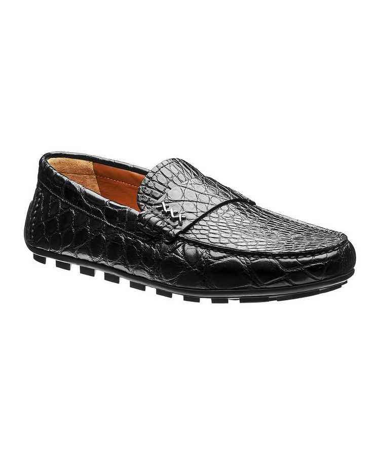 Couture Alligator Driving Shoes image 0