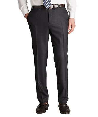 Canali Kei Slim Fit Stretch-Wool Dress Pants