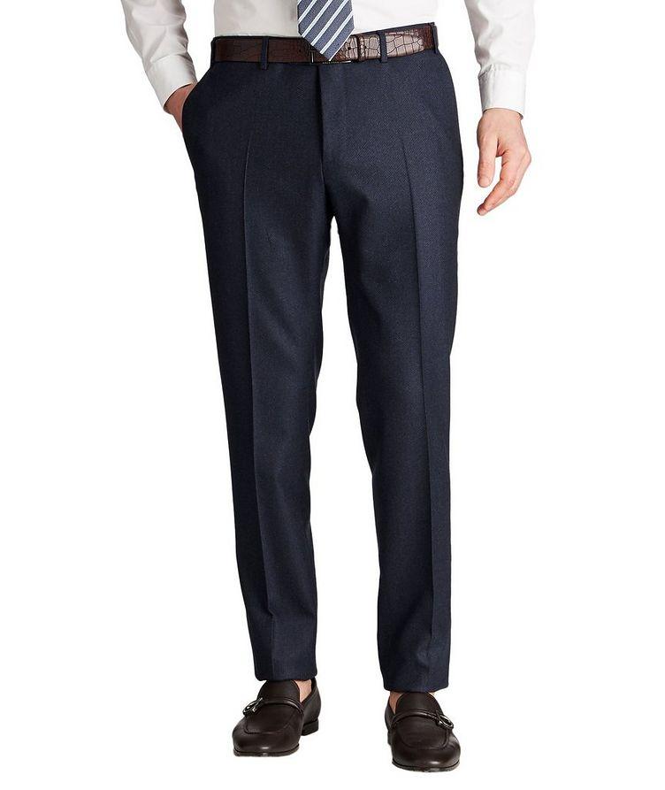 Kei Slim Fit Stretch-Wool Dress Pants image 0