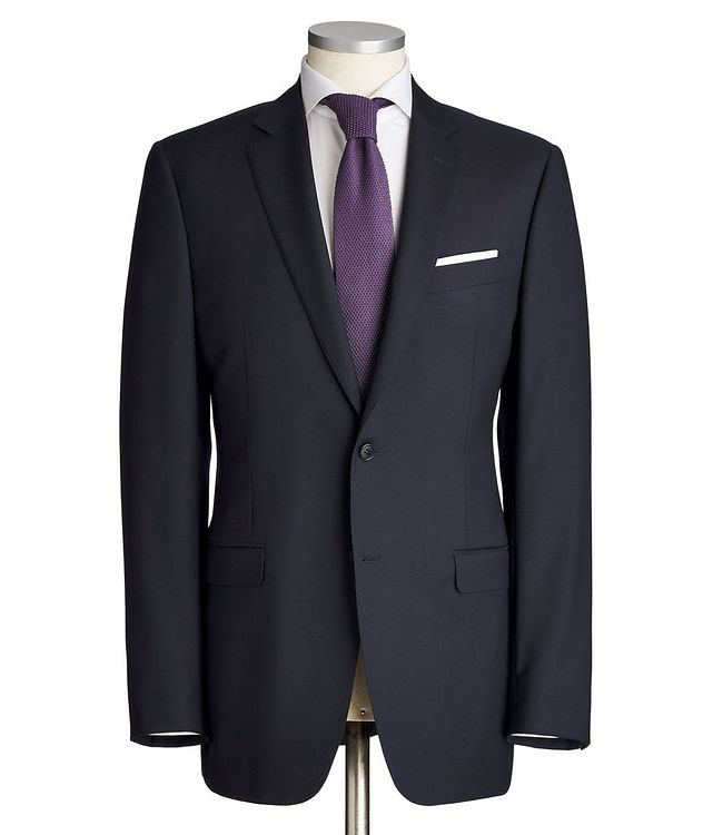 Contemporary Fit Wool Suit picture 1