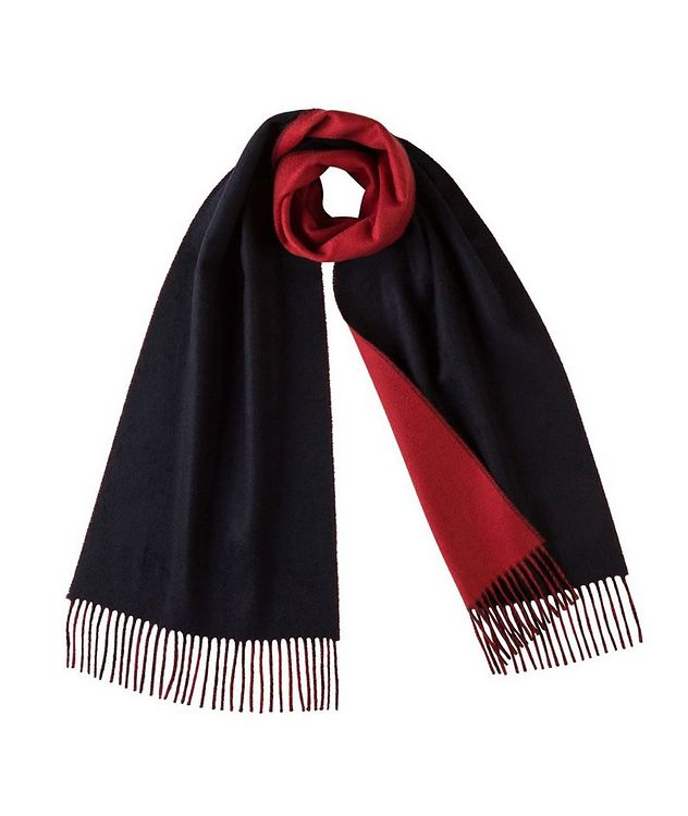 Reversible Cashmere Scarf picture 1