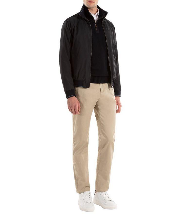Cardigan en laine vierge à glissière image 3